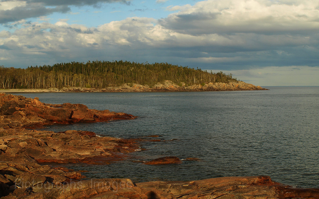 Casque Isle Hiking Trail, Lake Superior