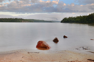 The Beach at Rossport, Ontario, Canada