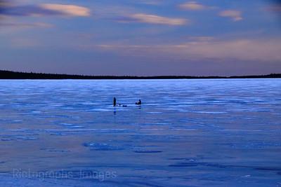 Winter Fishinf, Lake Superior 2019
