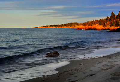 A Early Morning On Lake Superior's Coast