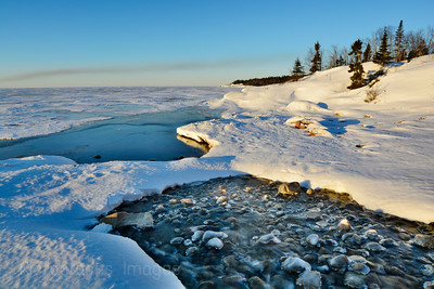 Lake Superior, March 2015