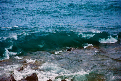Wave, Lake Superior, RictographsImages