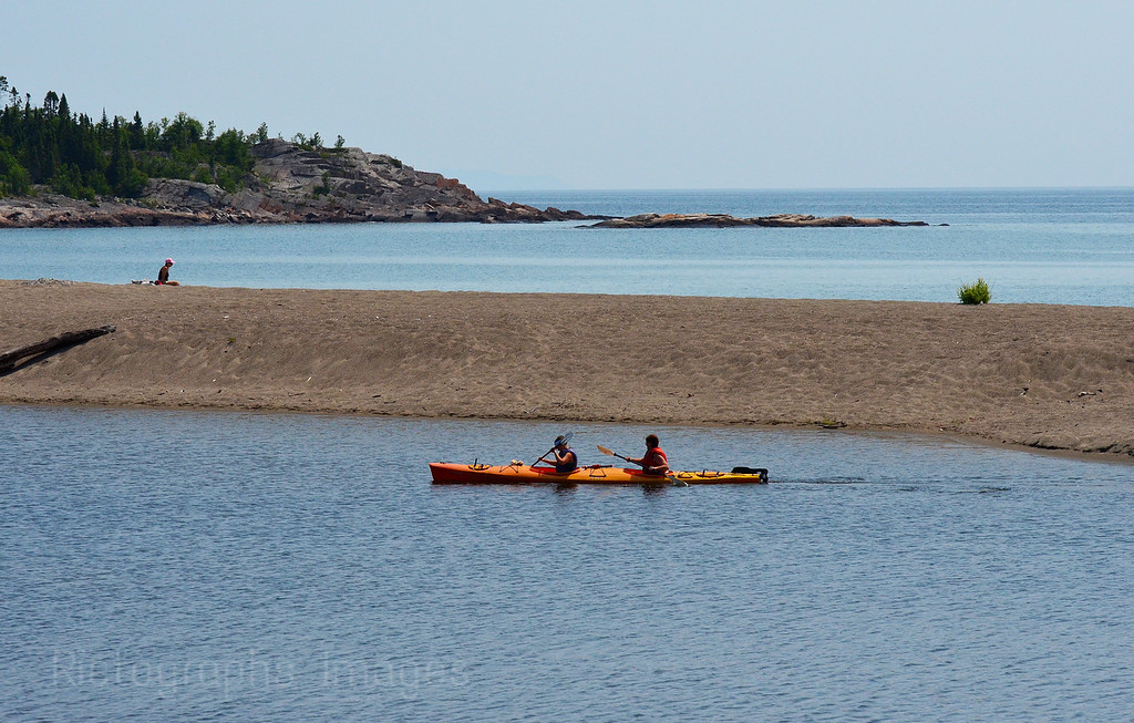 Aguasabon River & Lake Superior; Lake Superior Day 2012