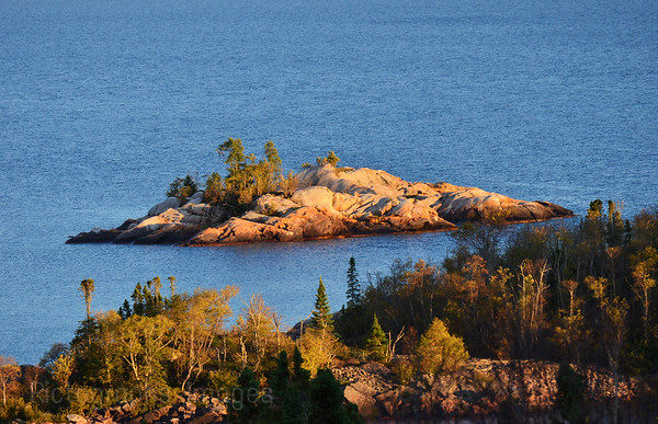 Shot From The Lyda Bay Scenic Lookout, Located on the Casques Isles Hiking Trail.  Near Terrace Bay, Ontario, Canada.
