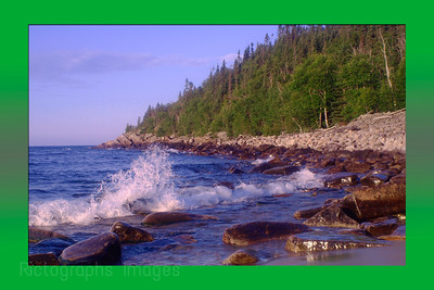 The North Coast of Lake Superior along the Casques Isles Trail Waters and Waves Sculpting the North Shore of Lake Superior