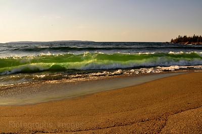 The Beach at Terrace Bay, Ontario, Canada