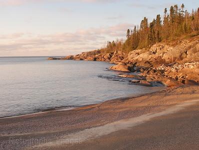 Lake Superior, Beach