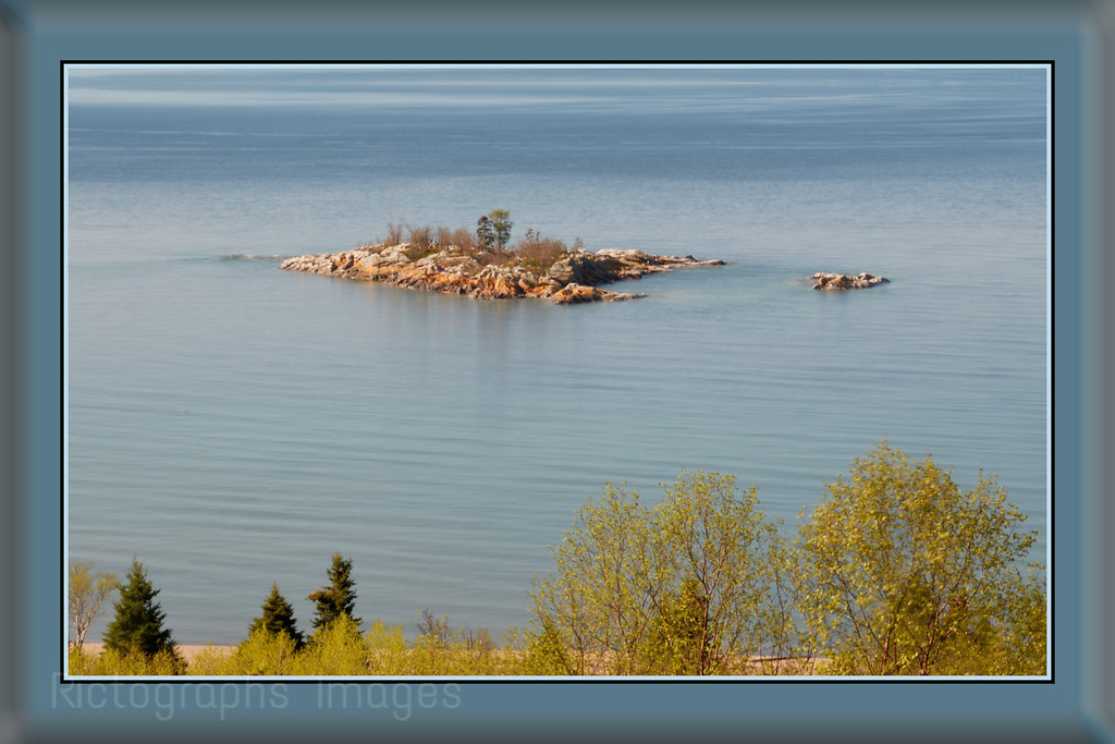 Gull Isle, Lake Superior, Terrace Bay, Ontario, Late Spring 2014