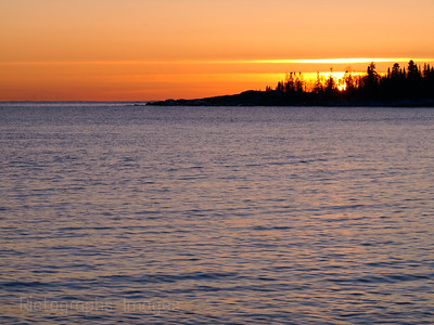 Lake Superior, Photography, Sun set, water,blue, orange, 4897