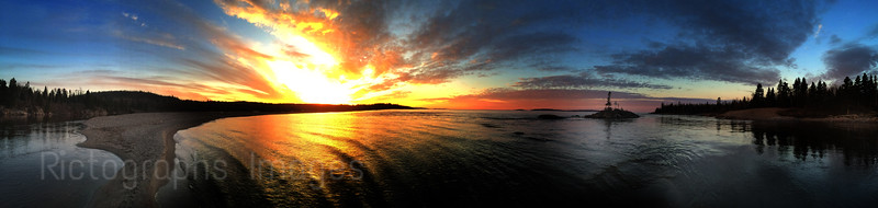 Lake Superior, & Aguasabon River