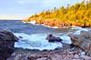 Lake Superior Rocks, October 2017