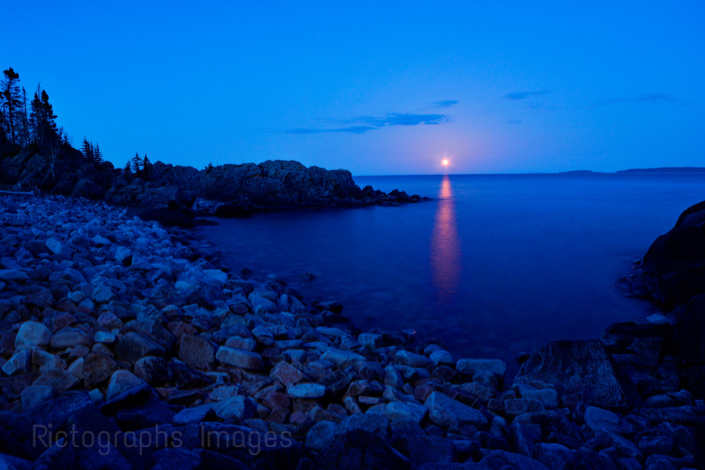 Lake Superior Landscape, Terrace Bay,Ontario, Canada Ric Evoy, Rictographs Images, May 2015