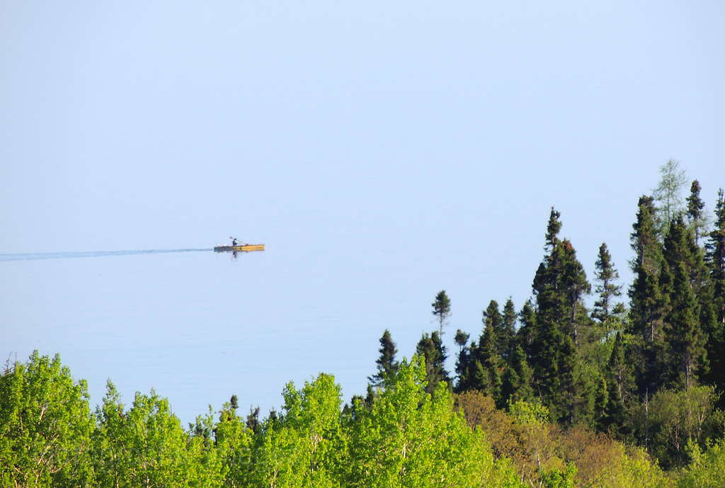Kayaking Lake Superior