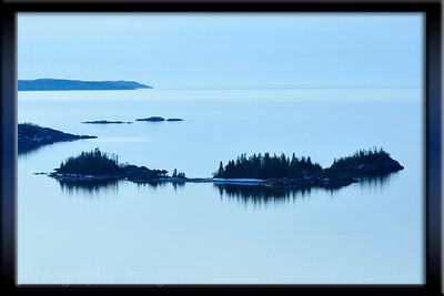 Lake Superior, Terrace Bay, Old Ned and Taylor Isles, Casque Isles, Ontario, Canada