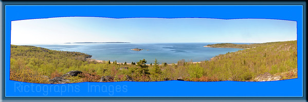 Lake Superior Panorama, Terrace Bay, Ontario, Canada