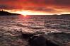 A Lake Superior Sunrise, Autumn 2016, Ric Evoy, Rictographs Images