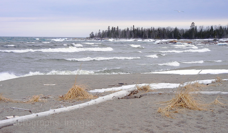 Terrace Bay, Lake Superior, Beach