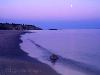 Secluded Beach Waters and Waves Sculpting the North Shore of Lake Superior