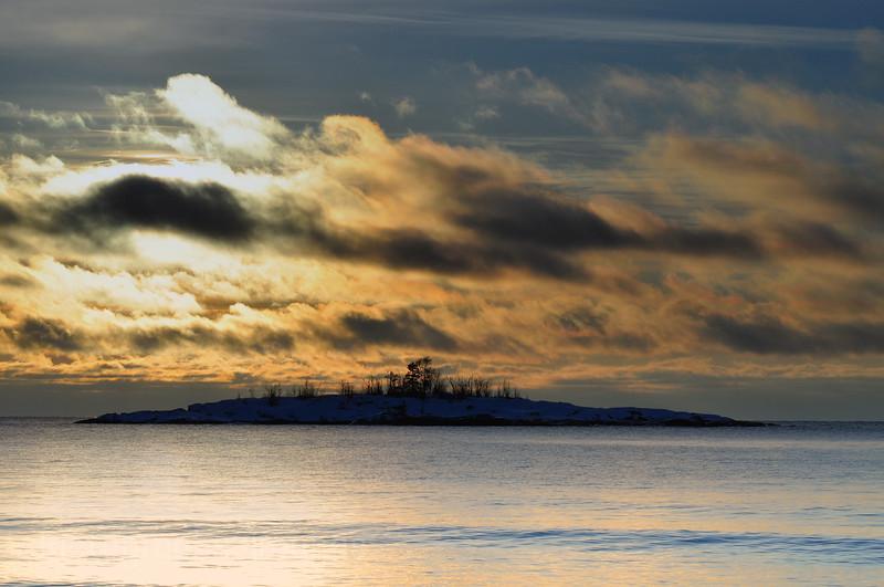 Lake Superior Morning, Near Terrace Bay, Ontario, Canada