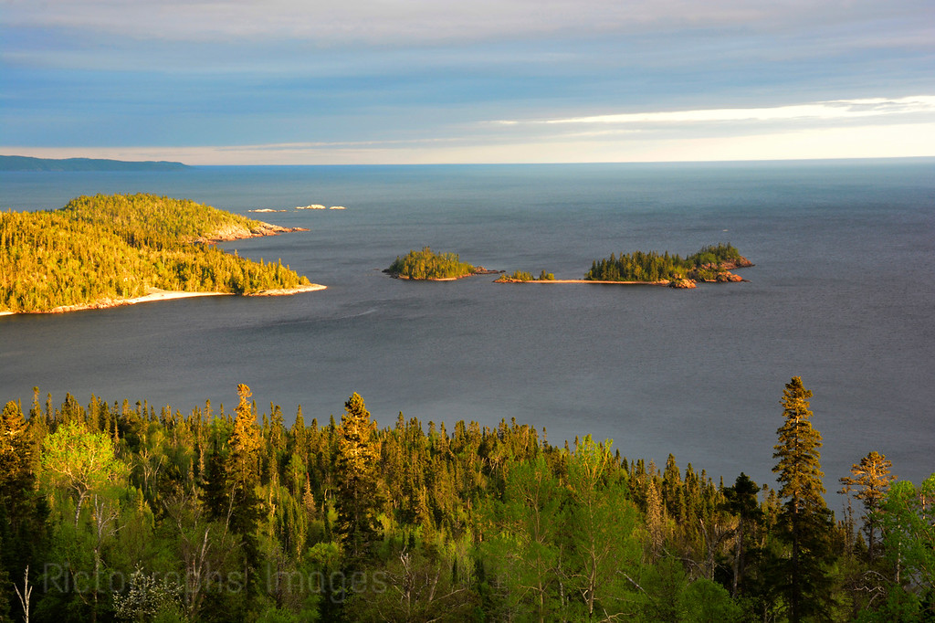 Blue Water, Lake Superior, Terrace Bay, Ontario, Canada , 2016, Rictographs Images