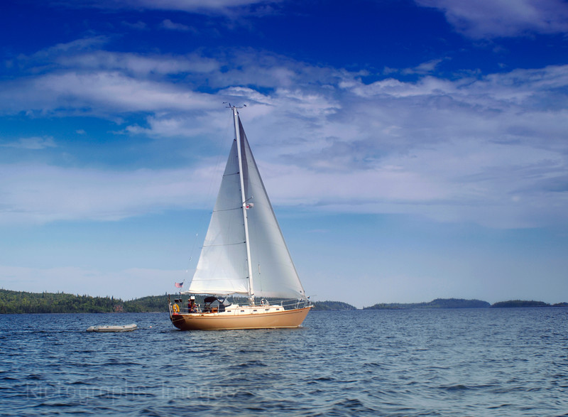 Sailing Lake Superior,