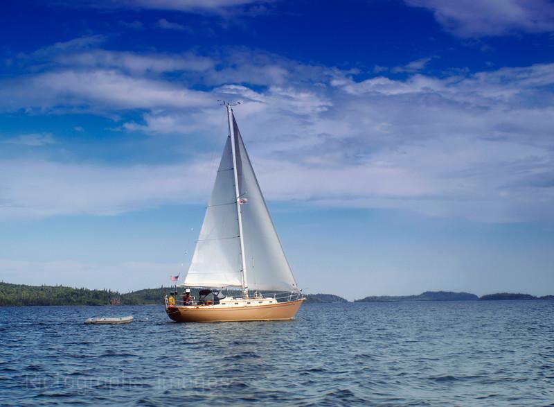 Sailing Lake Superior,