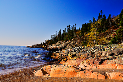 Lake Superior Landscape, Photography
