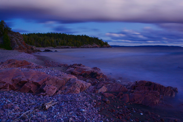 Rocky Shore, Lake Superior, Ric Evoy, Rictographs Images