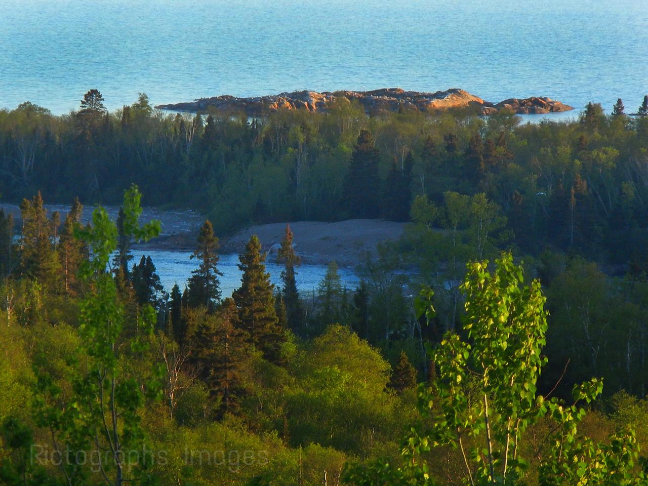 Aguasabon River, Lake Superior Beauty