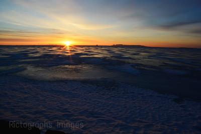 Lake Superior Morning Sunrise