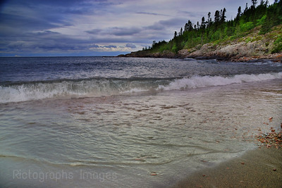A Lake Superior, Beach, Summer 2019