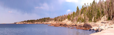 Rocky Shores of Superior Waters and Waves Sculpting the North Shore of Lake Superior