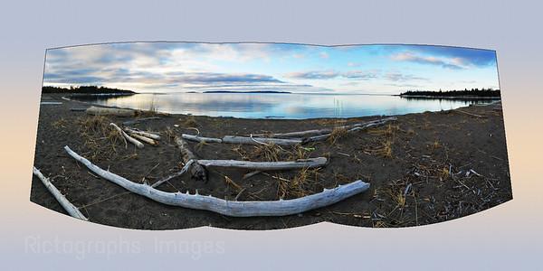 Lake Superior, Photography The Beach at Terrace Bay, Ontario, Canada,