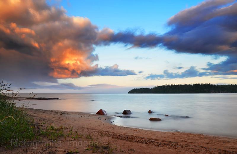 Lake Superior Landscape, Rossport, Ontario, Canada