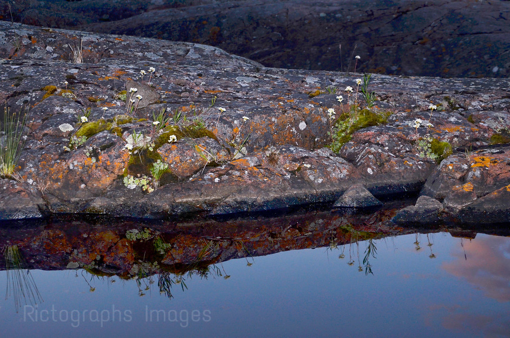 The Rocky Canadian Shield, Rictographs Images