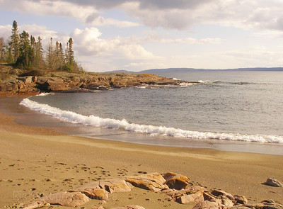 Superior Coast Waters and Waves Sculpting the North Shore of Lake Superior