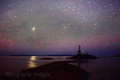 Starry Night, Aguasabon River Mouth, 2019