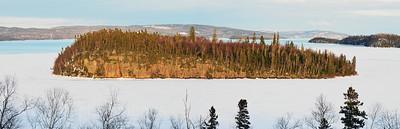 Lake Superior, Panorama, Spring,