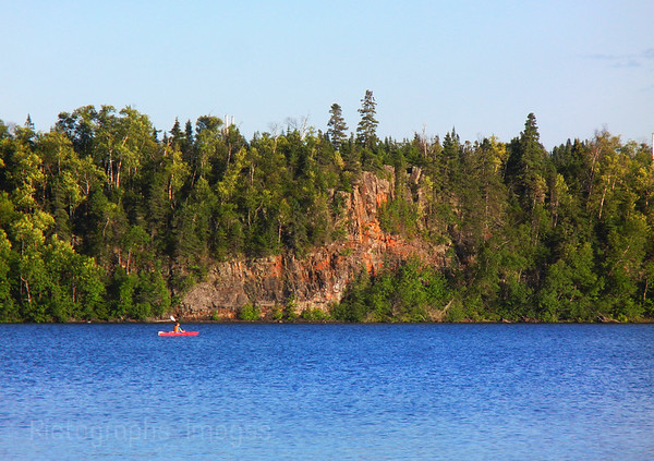 Kayaking, Lake Superior