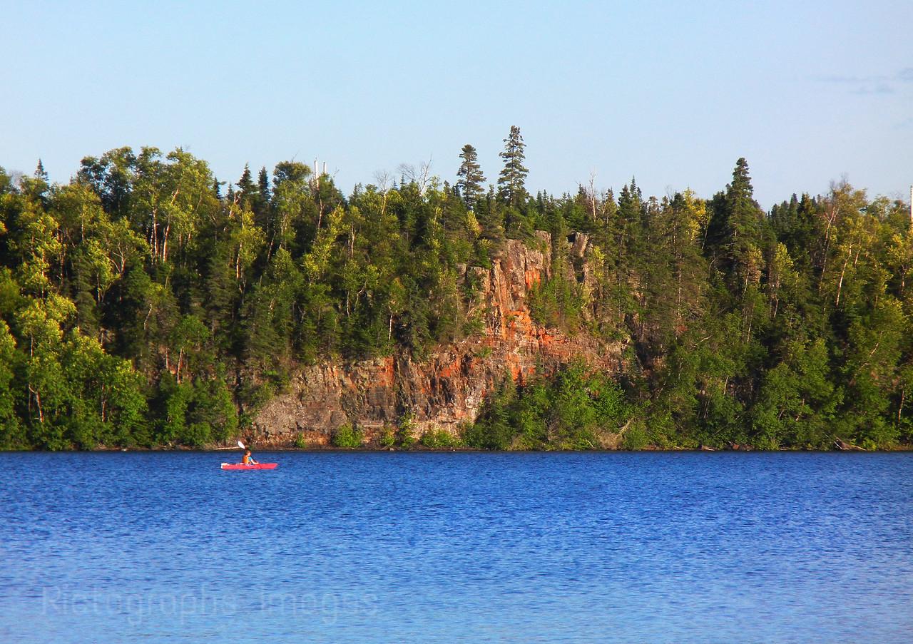 Kayaking, Lake Superior