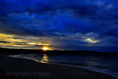 The Beach, Terrace Bay, Ontario, Canada, July 2017