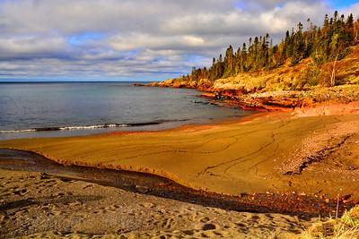 Terrace Bay, Ontario, Canada, Beach, Spring, 2017