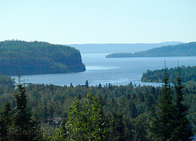 The Boreal Forest and Lake Gitche-Gumee Waters and Waves Sculpting the North Shore of Lake Superior