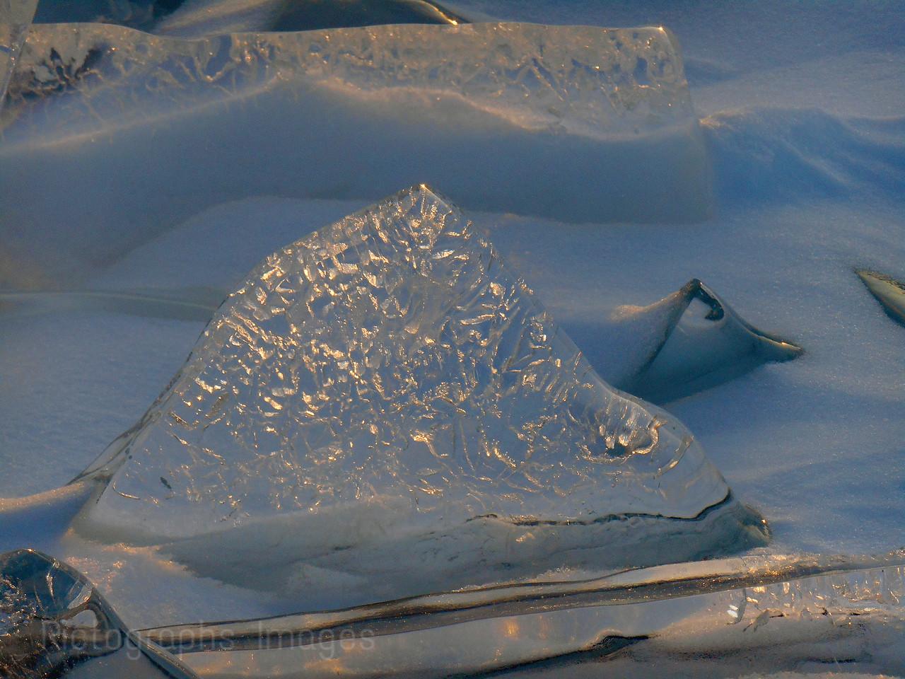 Hard Water Ice, Lake Superior, 66