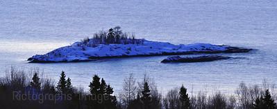 Lake Superior Near Terrace Bay, Ontario, Canada