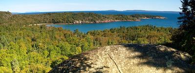 Scenic Lookout,Lyda Bay, Lake Superior, Terrace Bay, Ontario, Canada