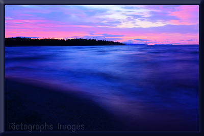 Lake Superior Landscape, Rictographs Images