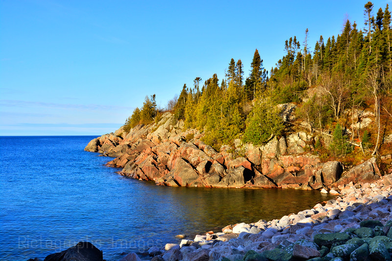 The Coast Of Lake Superior, Terrace Bay, Ontario, Canada, Spring 2017