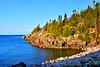 The Coast Of Lake Superior, Terrace Bay, Ontario, Canada, Spring 2017