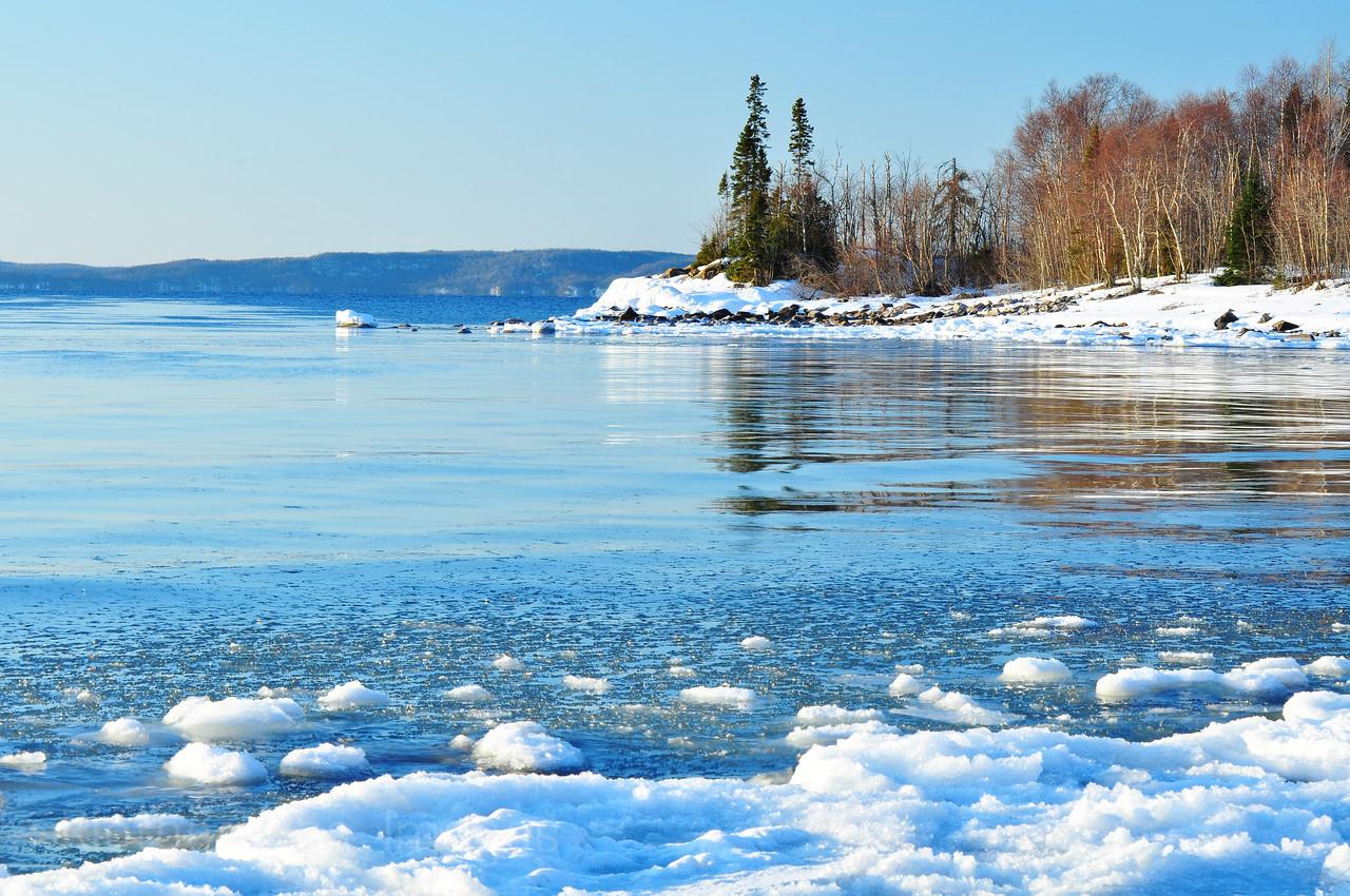 ICY Lake Superior